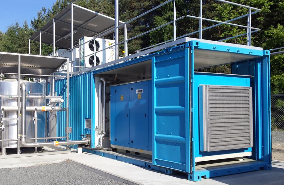 biomethane project in Jevnaker, Norway