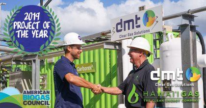 Hawaii Gas DMT Award
