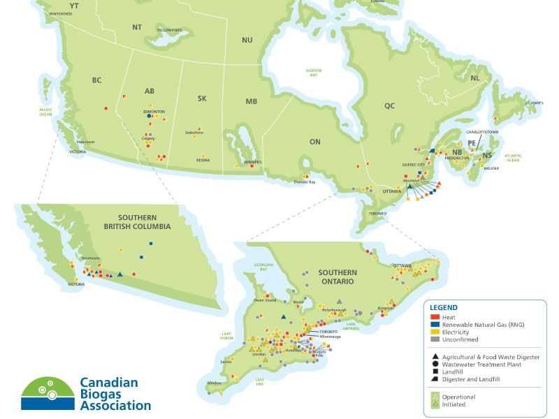 renewable natural gas in Canada