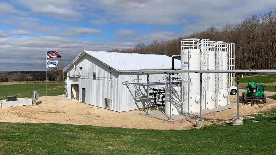 clover hill dairy in wisconsin for renewable natural gas or rng